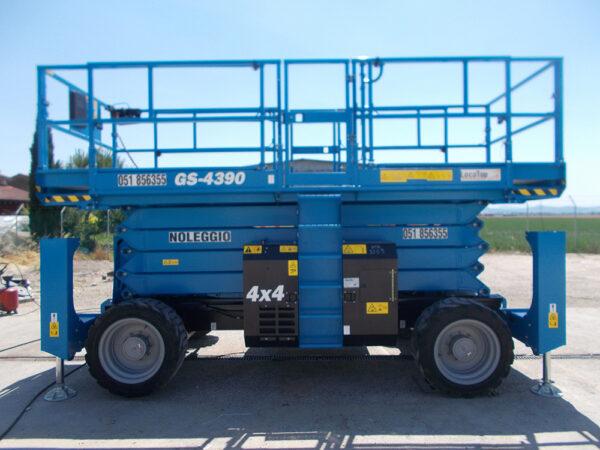 Piattaforma Semovente Verticale Diesel VD 15 GE - GS 4390 RT