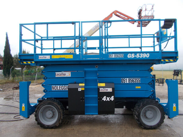 Piattaforma Semovente Verticale Diesel VD 18 GE - GS 5390 RT