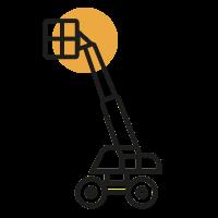 Piattaforme Semoventi Telescopiche Diesel