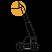 Sollevatori telescopici