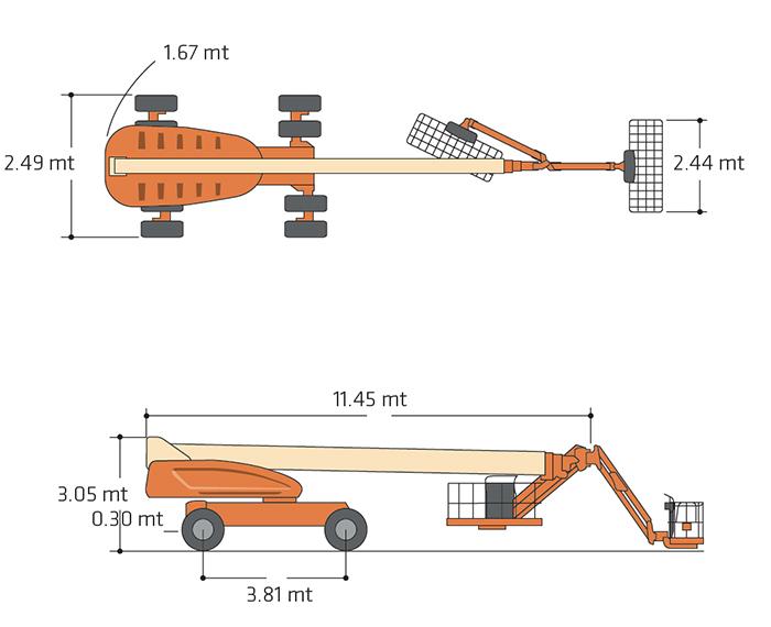 TDX 38 JL - 1200 SJP