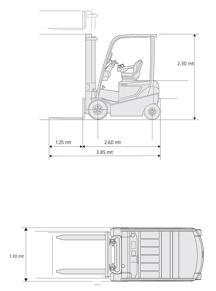 Muletto Diesel MVD 23.5.15 NISSAN