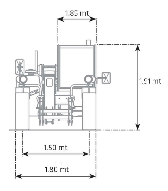 Sollevatore telescopico fisso STF 25.6 DI