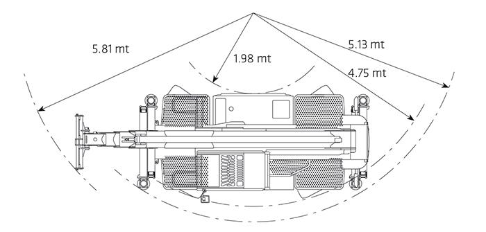 Sollevatore Telescopico Rotante STR 45.21 DI