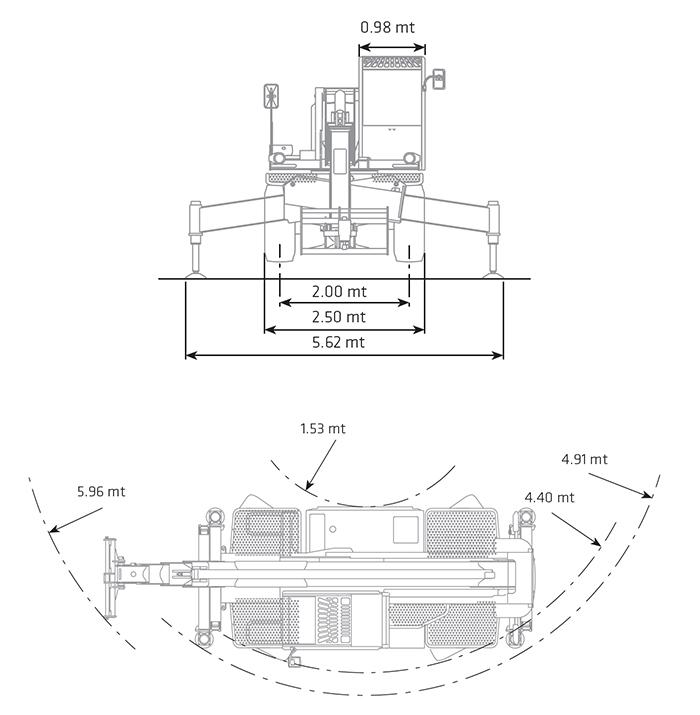 Sollevatore Telescopico Rotante STR 45.30 DI
