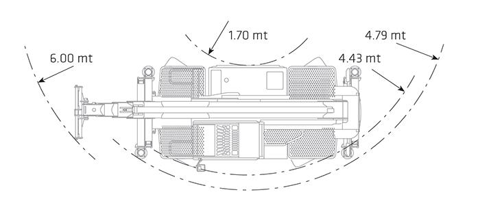 Sollevatore Telescopico Rotante STR 50.25 DI