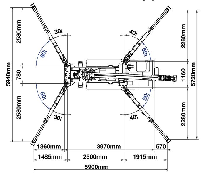 Minigru MG A506CL - UNIC URW
