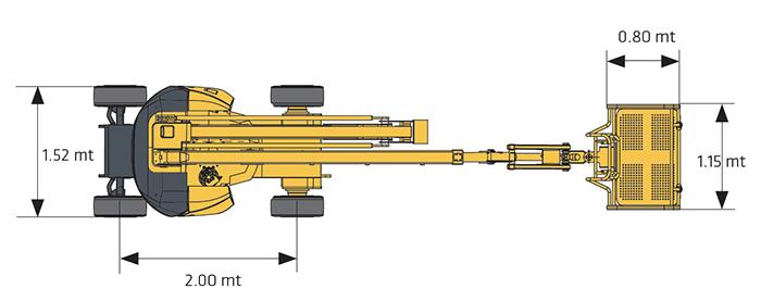 Piattaforma Semovente Articolata Elettrica AE 15 HA - HA 15 IP