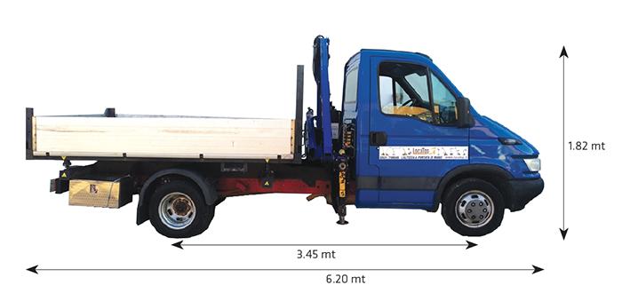 Autocarro CG 8.50-430 PM RIB su Iveco