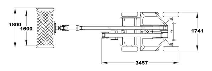 Piattaforma Semovente Articolata Elettrica AE 17 BA - SEL 17