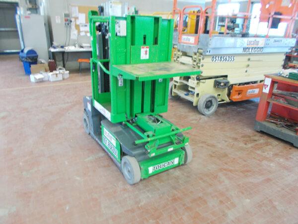 Piattaforma Semovente Verticale Elettrica con Braccio VEB 6 JL - TOUCAN DUO