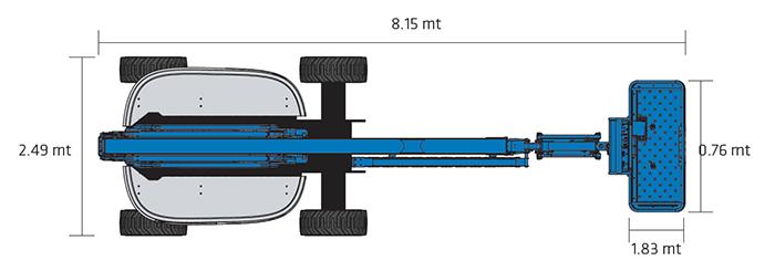 Piattaforma Semovente Articolata Elettrica AE 20 GE - Z 60-37 FE