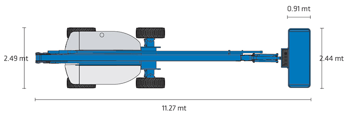 Piattaforma Semovente Articolata Diesel ADX 26 GE - Z 80-60