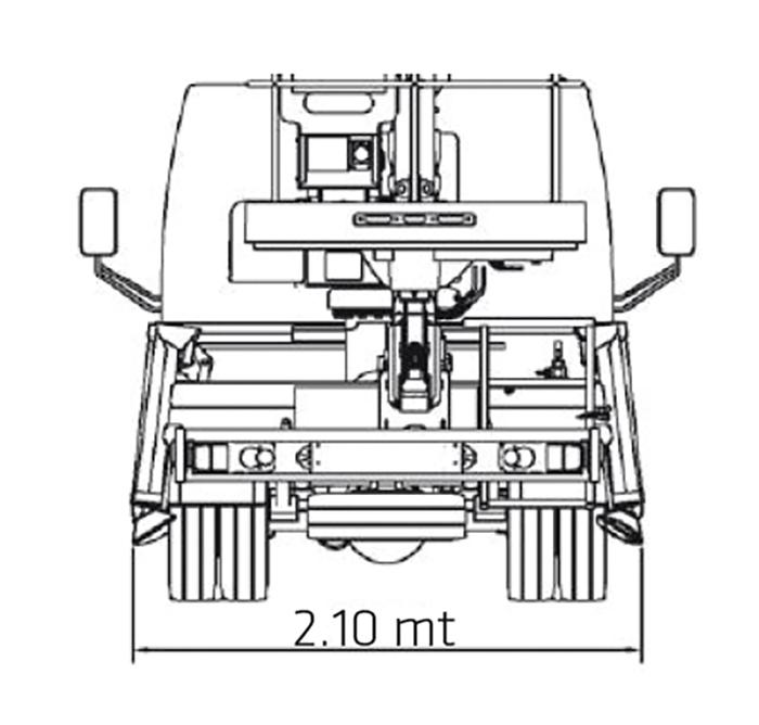 Piattaforma autocarrata CA 20 SE - ZED 20.3 HV