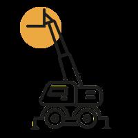 Sollevatori Telescopici Rotanti